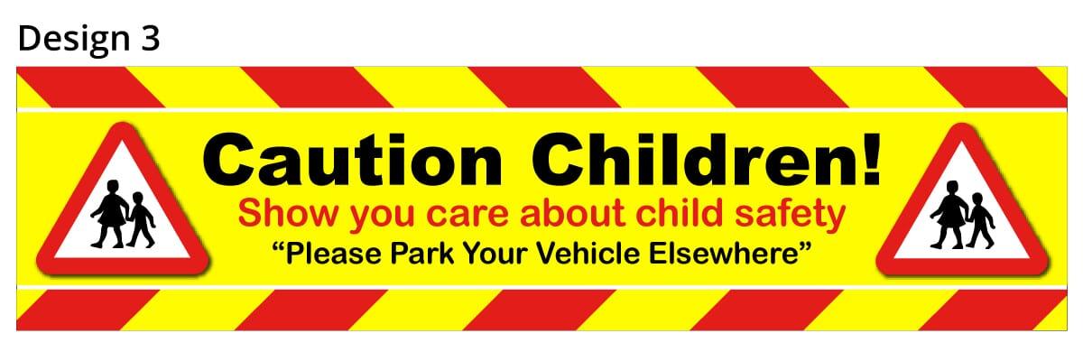 School Parking Safety Banner 3