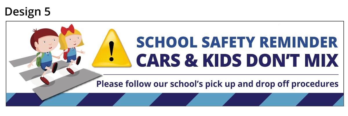 School Parking Safety Banner 5