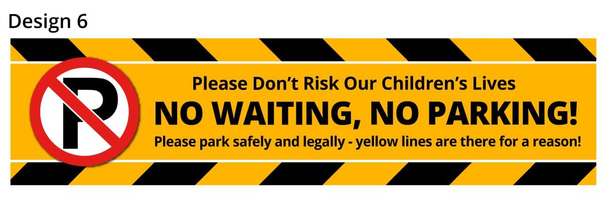 School Parking Safety Banner 6