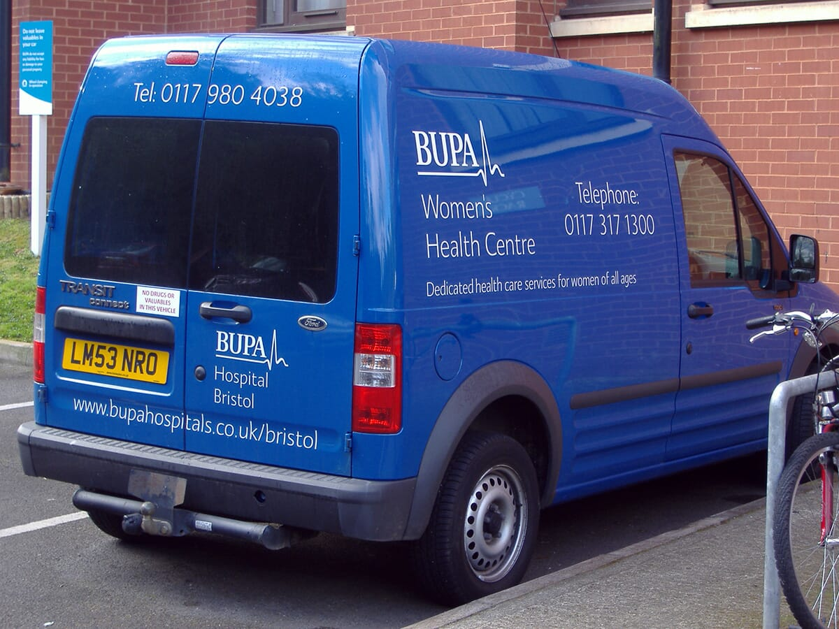 Custom Van Sign Writing