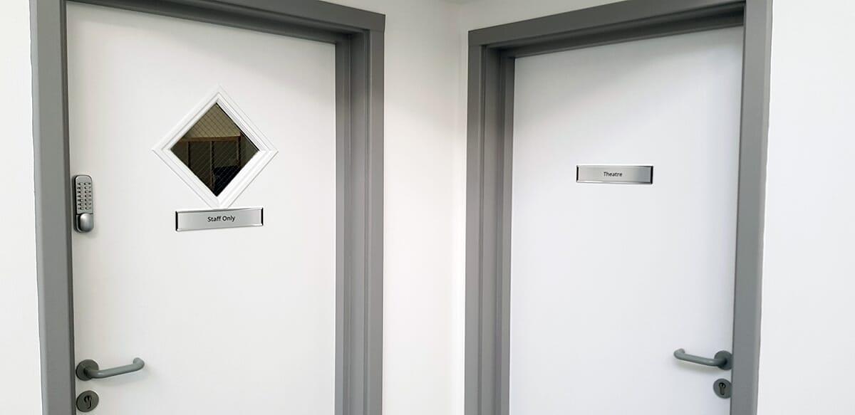 Doctors Door Sign