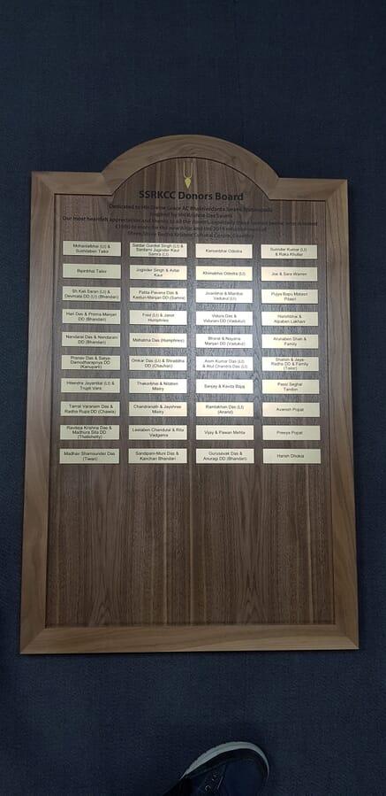 Honours Board Plaques