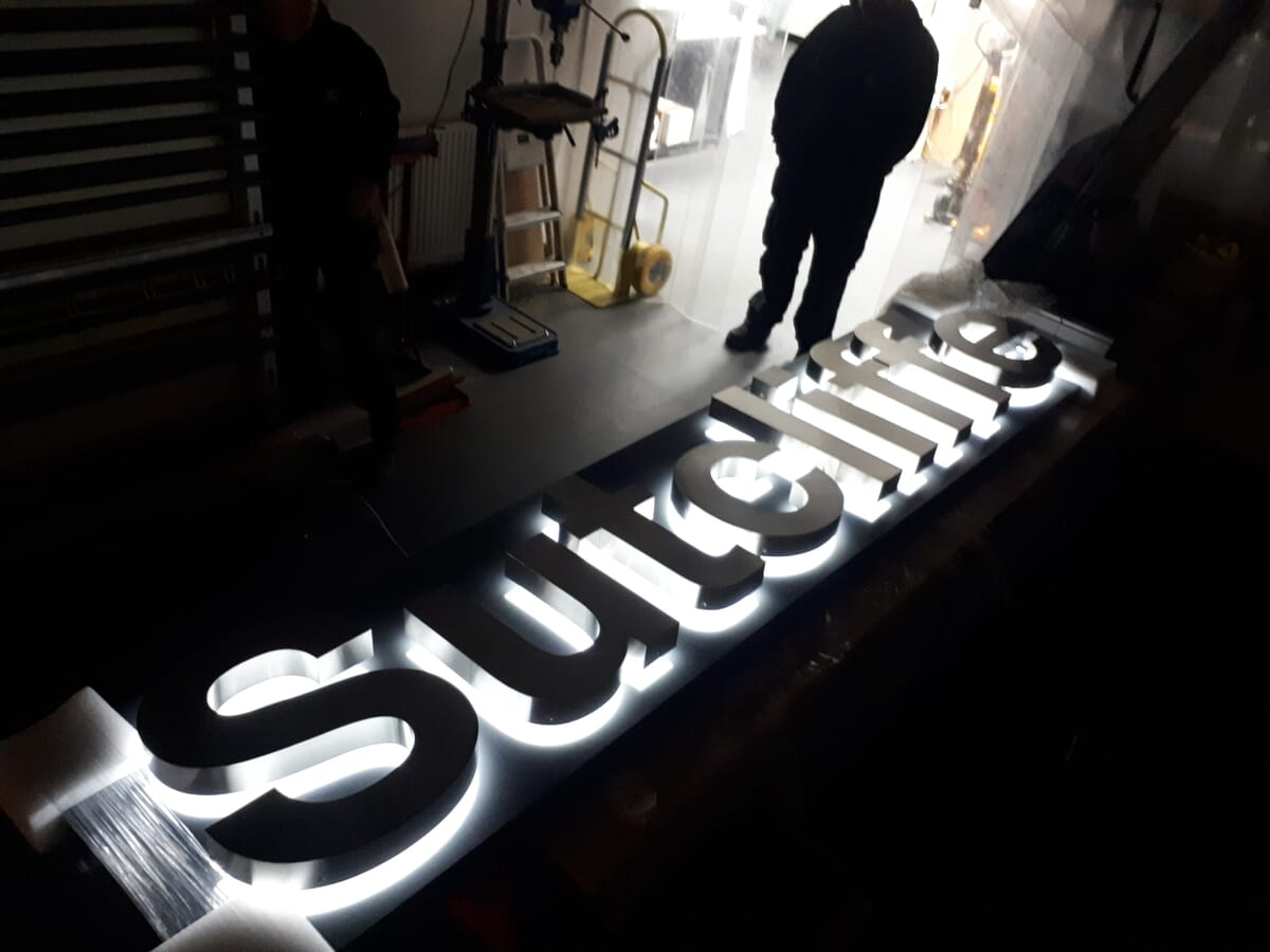 Illuminated Sign Letters