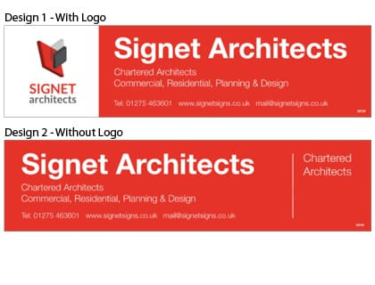 Architects Signboard