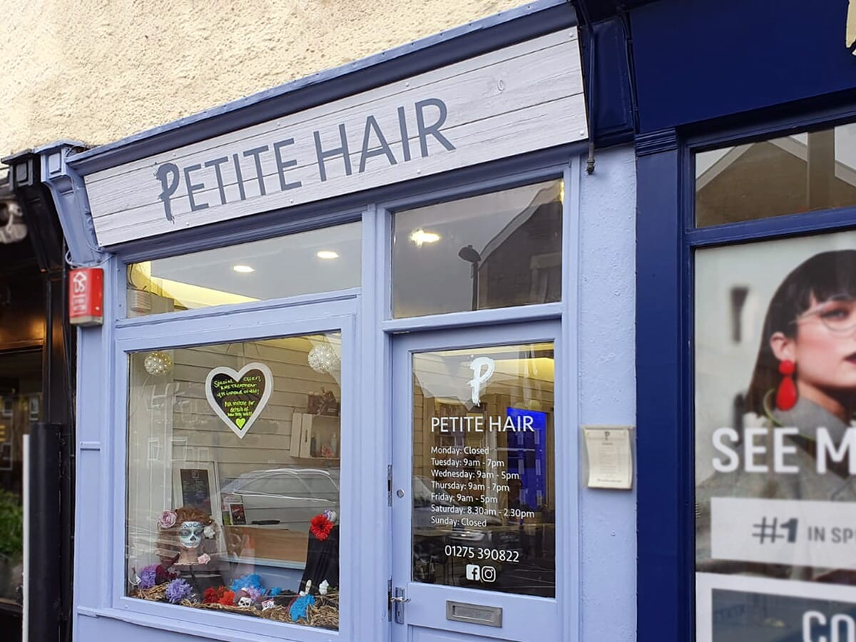 Shop Sign for a Hairdressers