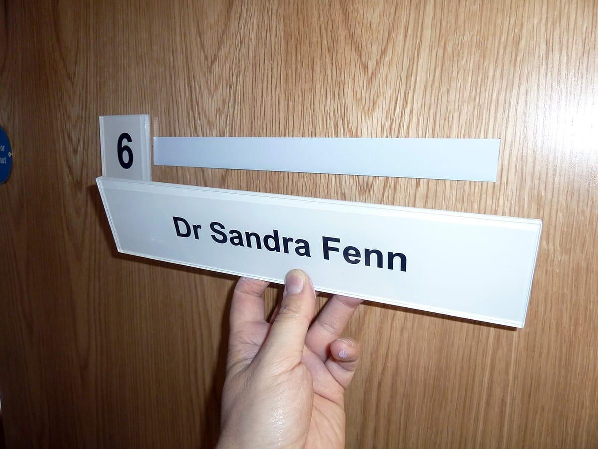 Acrylic Door Sign