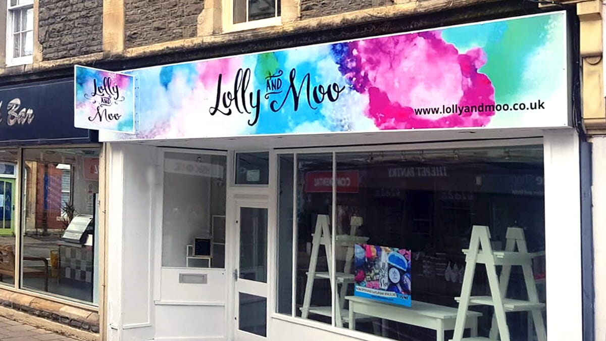 Shop Sign for a business