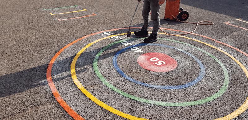 Target-Rings-Playground-Marking