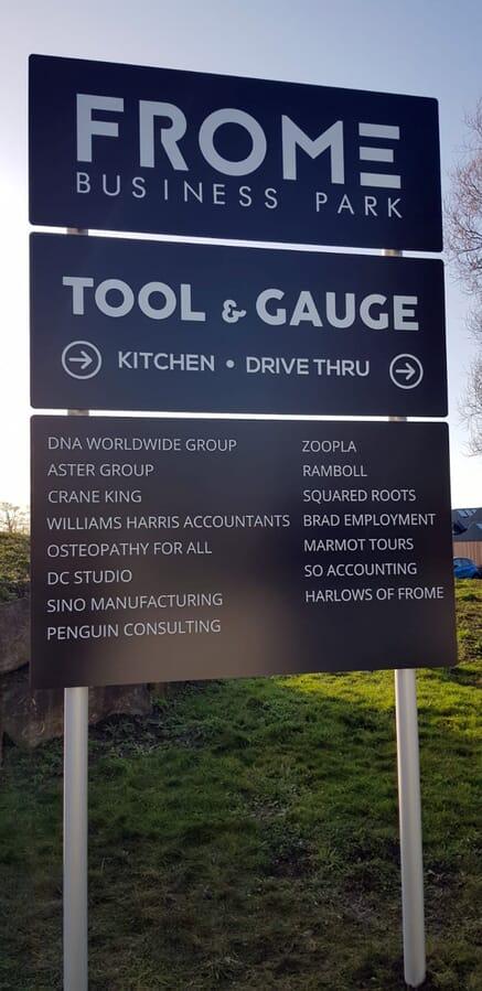 Business Park Sign