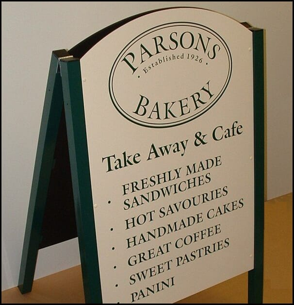 Pavement Sign